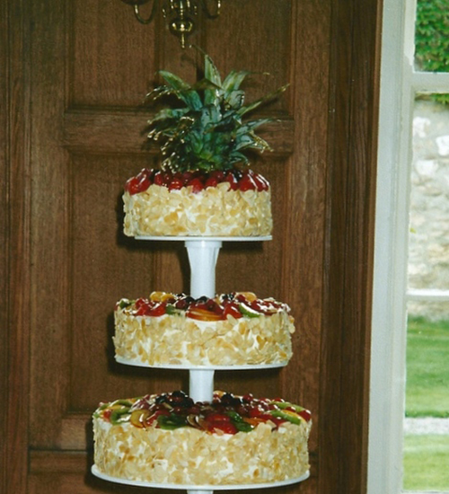 Fresh Cream wedding cake